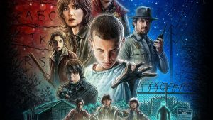 Stranger Things - complete with Lucas-esque ads