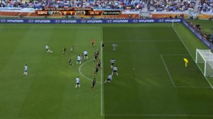 Four offside players is a bit extreme